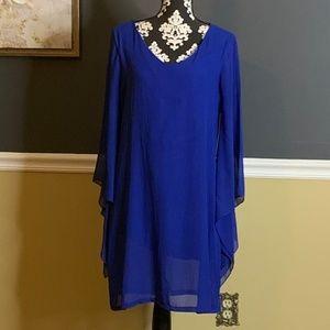 ROCK 47 by Wrangler Flare Sleeve Tunic Dress Sz M